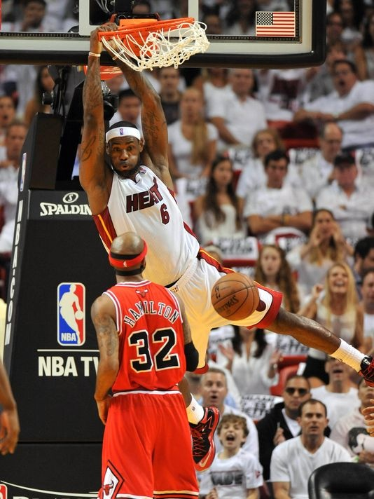 LeBron James & The Miami Heat Are Back In The Eastern Conference Finals #LeBron #NBAPlayoffs #NBA #KingJames #Birdman #Miami #Heat #Wade #LeBronJames www.stores.ebay.com/G-Sports-Enterprises