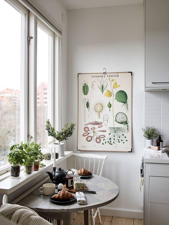 идеи для интерьера, маленькие кухни