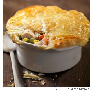 Herbed Chicken Pot Pie with Bacon- sometimes the back-to-the-basics recipes are the ones that just hit the spot.