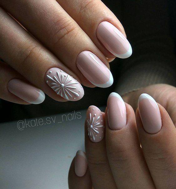 Beautiful simple nail