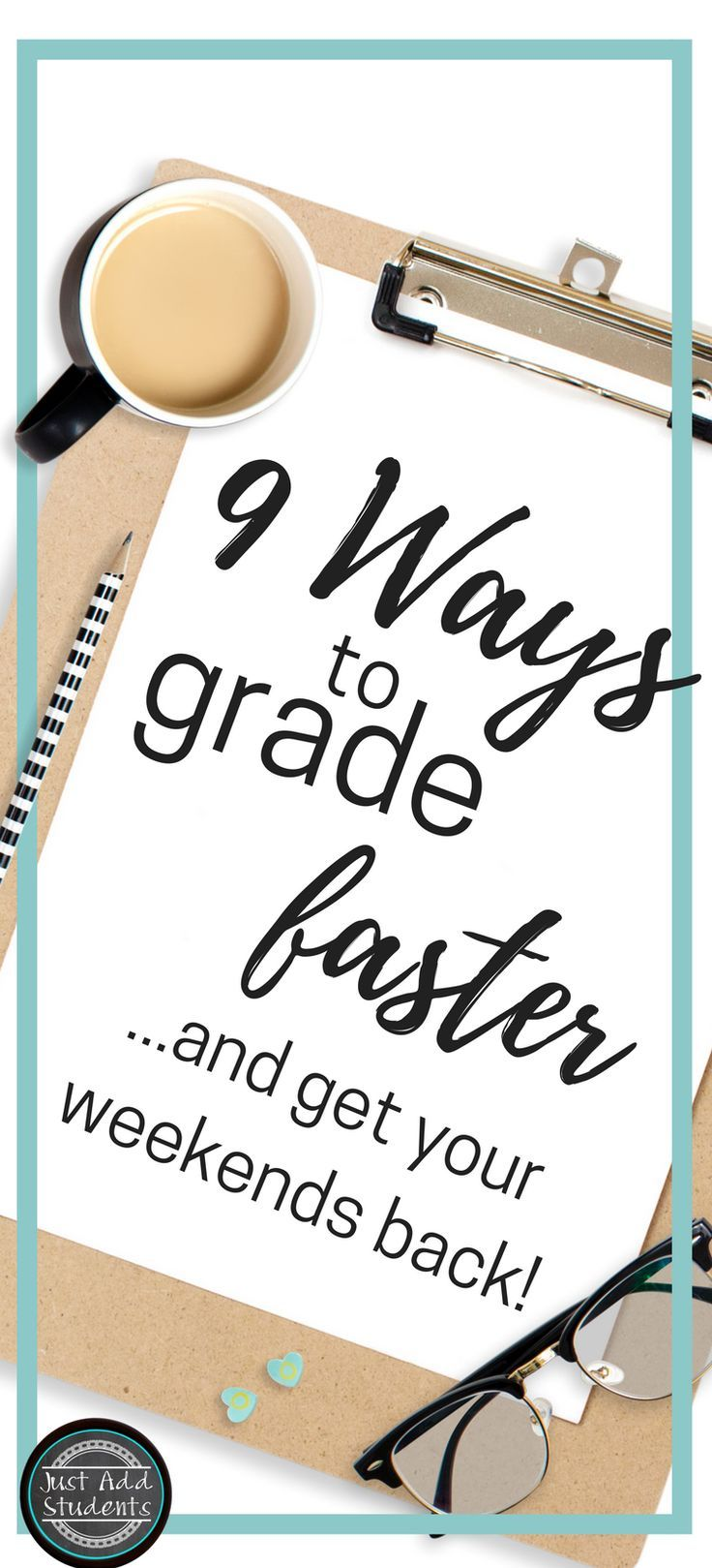 Nine ways to help you save time grading, streamline planning, use formative assessments, checklists, and rubrics.  Designed to simplify grading writing and other ELA projects.  Ideas to help organize your teaching life and save you time, so you can get back your weekends! #teachingwriting #teachingresources #writing #gradinghacks