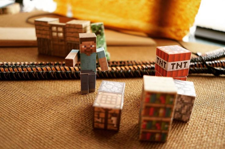 "8 Likes, 2 Comments - @jcispeeking on Instagram: ""Don't know why I suddenly brought these Minecraft paper dolls out, but they look fun, so I am…"""