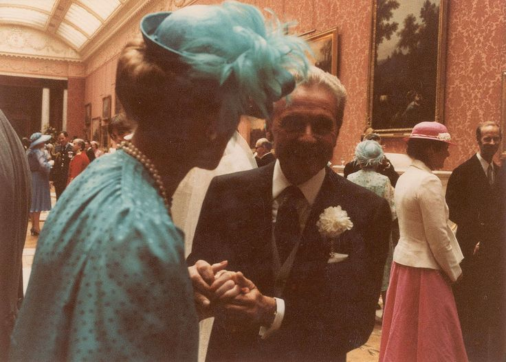 Princess Michael of Kent is seen from behind.