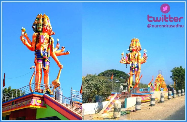 """Biggest statue of Lord Panchamukha Anjaneya is located at Panchamukha Anjaneya Swami Temple; Piduguralla town belongs to Guntur district in the Indian state of Andhra Pradesh. It is located at a distance of 68 kms from the district head quarter Guntur on Hyderbad-Guntur State Highway No-2. The south central railway line from Guntur to Hyderabad (via) Nadikudi passes through this town. Piduguralla is also known as """"Lime City of Andhra Pradesh"""" as lime stone of rich quality is abundantly…"""