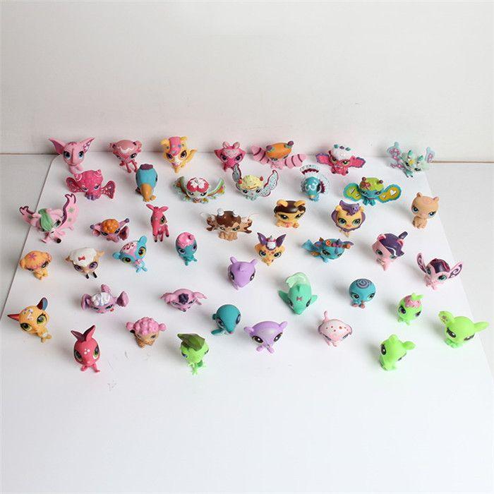 5pcs Different littlest pet shop  Cute Animals Figure  Collection Models Figures…