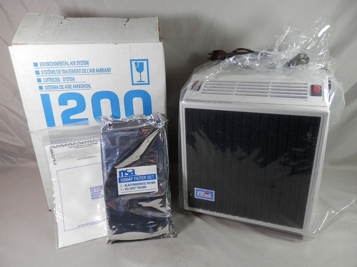 Vintage NSA 1200 New Old Stock Model 1200A Environmental Air Filter System…