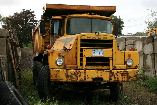 Mack Truck parked for good