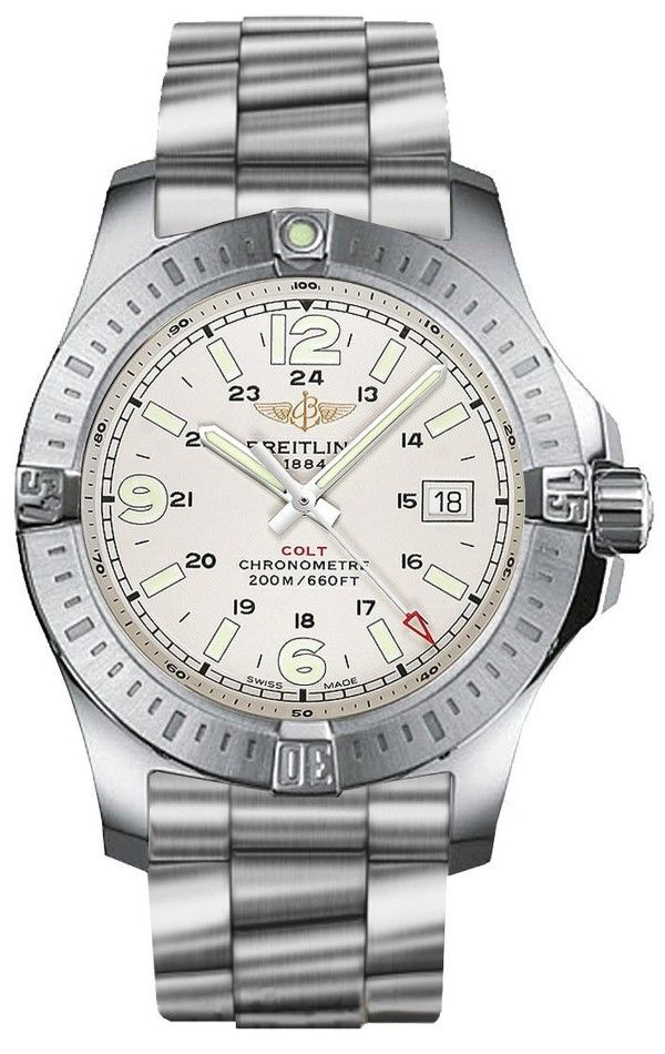 men watches: Shop online for Breitling Colt Quartz Mens Watch A7438811/G792-173A