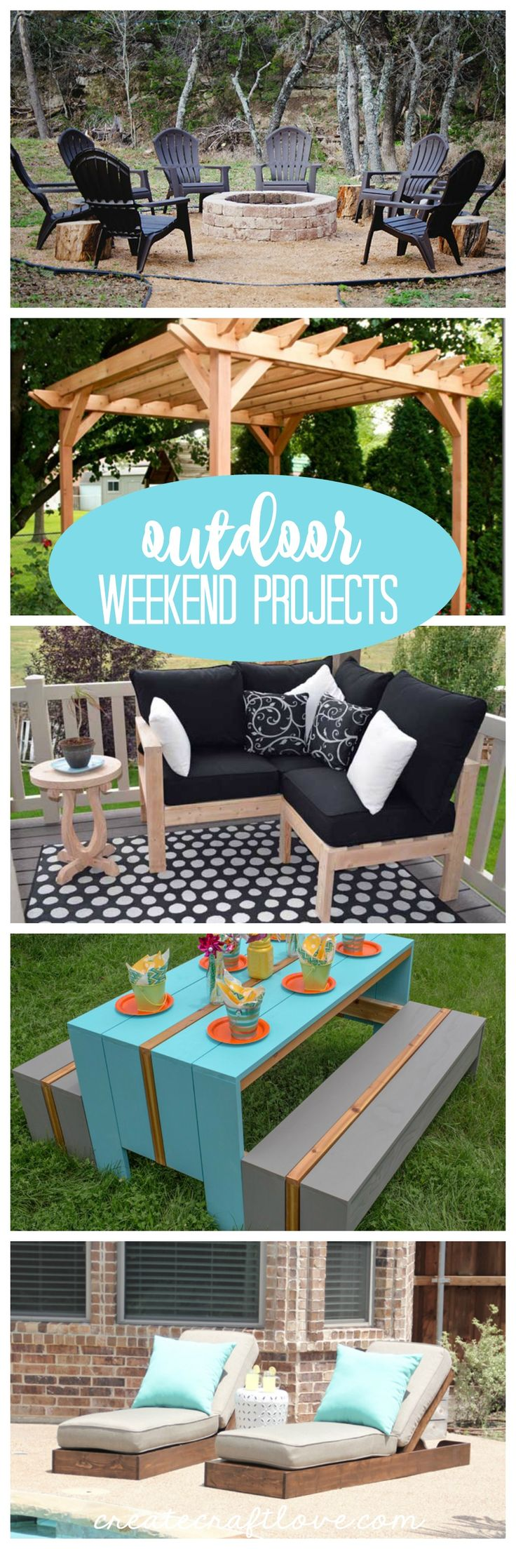 Outdoor Weekend Projects - Create Craft Love