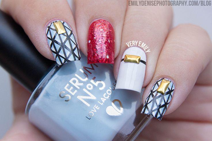 Very Emily » Indie Mix & Match  #nail #nails #nailart