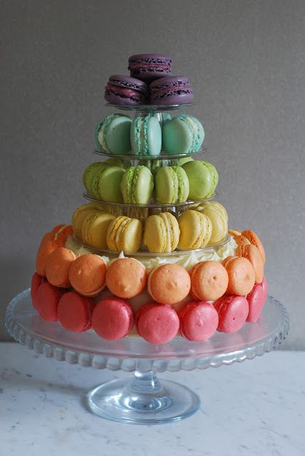 Macaron Cake - Afternoon Crumbs