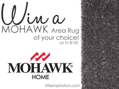 Mohawk Rug of your choice up to $150