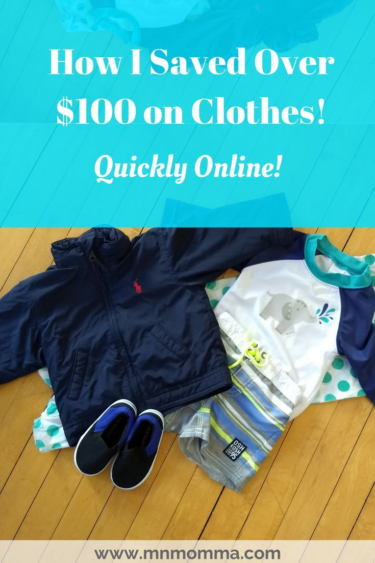 Save money on name brand clothes! How I save money quickly shopping online for clothes for my baby and my family. The easiest way to help the environment and save money! Reuse clothes and still get great quality! Many are new with tags!
