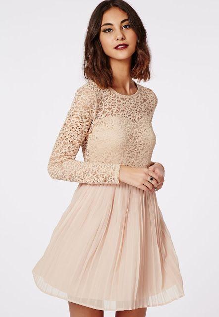 Propuestas de vestidos casuales con encaje