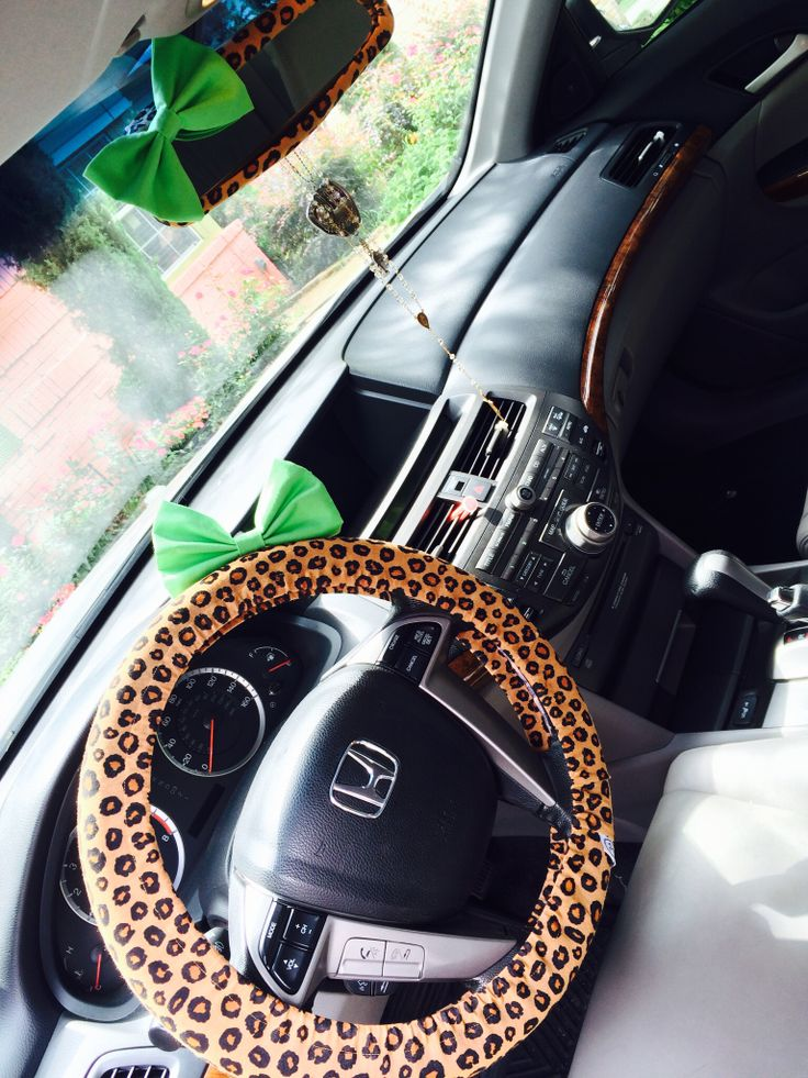 8 Best Images About Cheetah Print Car Accessories On