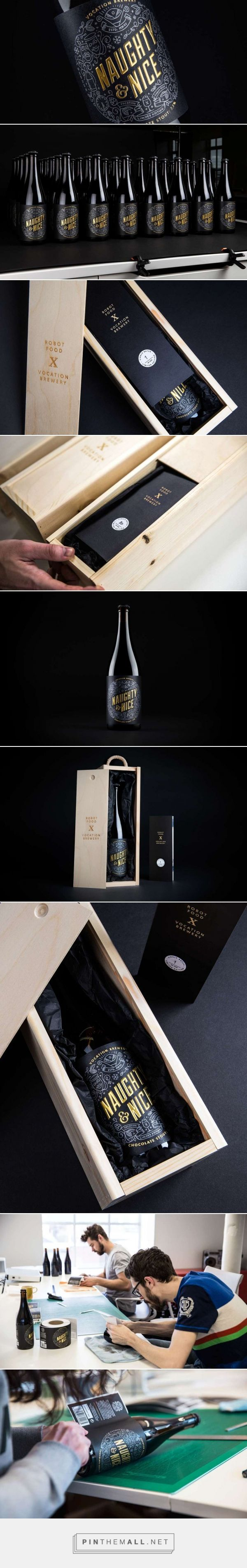 Naughty & Nice — The Dieline - Branding & Packaging - created via https://pinthemall.net