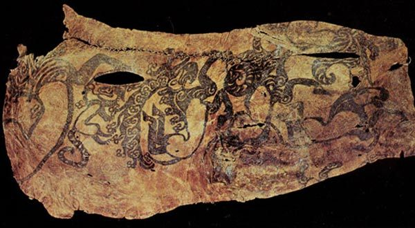 Ancient Tattoos of the Pazyryk Nomads
