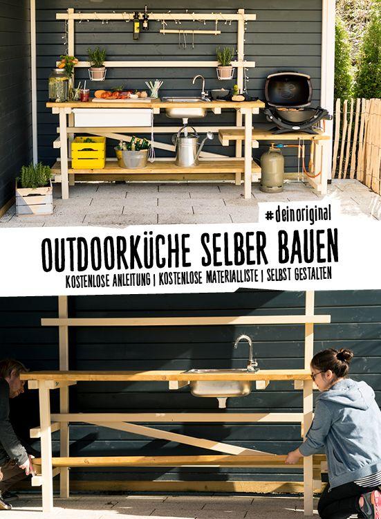 Die OBI Selbstbaumöbel Haben Ein Neues Mitglied: Outdoorküche Alfons.  #praktisch: Einfach Abzubauen