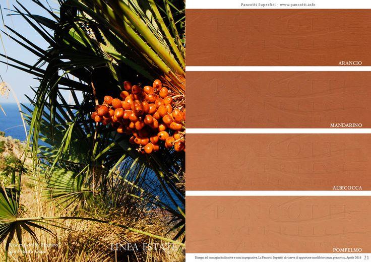 Linea Estate   #arancio #mandarino #albicocca #pompelmo