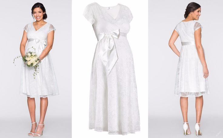 NOVÉ  ,,SVATEBNÍ šaty pro těhulky vel.36,40 :: AVENTE  ...móda s nápadem
