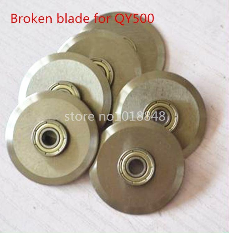 Broken bladefor QY500 Electric paper creasing machine book cover creasing cutting and creasing machine #Affiliate
