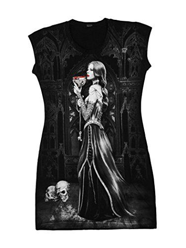 Precio:EUR 24,90 Camiseta Top vestido túnica negra The Priestess doble imp... https://www.amazon.es/dp/B01AQHGYAG/ref=cm_sw_r_pi_dp_x_Z1nIzbNQPNMNW