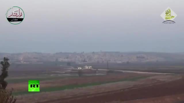 ¡Increíble!: Un Vehículo Del Ejército Sirio Logra Evitar Un Misil Antitanque