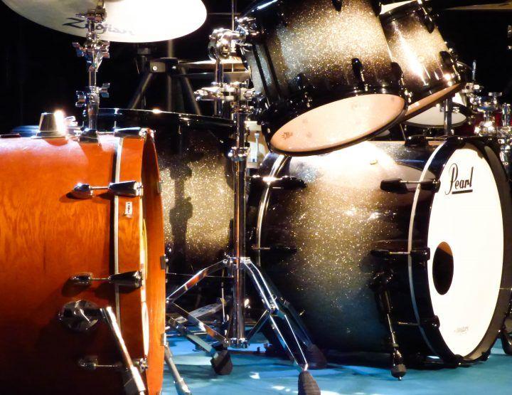 Sydney Taïeb, Tony Allen, Damien Schmitt et Stéphane Galland, invités du Drums Chelles Session 8