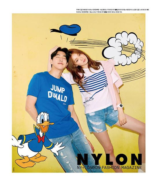 "Nam Joo Hyuk and Lee Sung Kyung Is A Sweet Couple In 'Nylon"" ~ Daily K Pop News"
