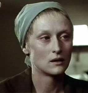 """MERYL STREEP in """"Sophie's Choice"""", 1982"""
