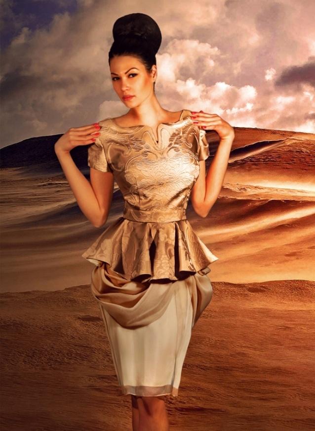 Alberta dress by Denis Predescu  Buy it: http://shop.inspirare.com/items/alberta-dress