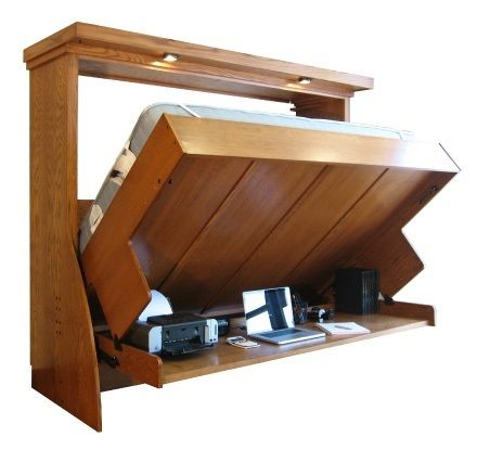 Murphy Bed Desk Super Cool For The Home Pinterest