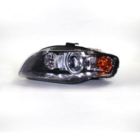 TYC 20-6954-00 | 2007 Audi A4 Chrome/Clear HID Headlights for Coupe/Sedan/Hatchback/Wagon