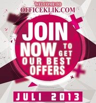 Join Officeklik.com Now to get our best offers