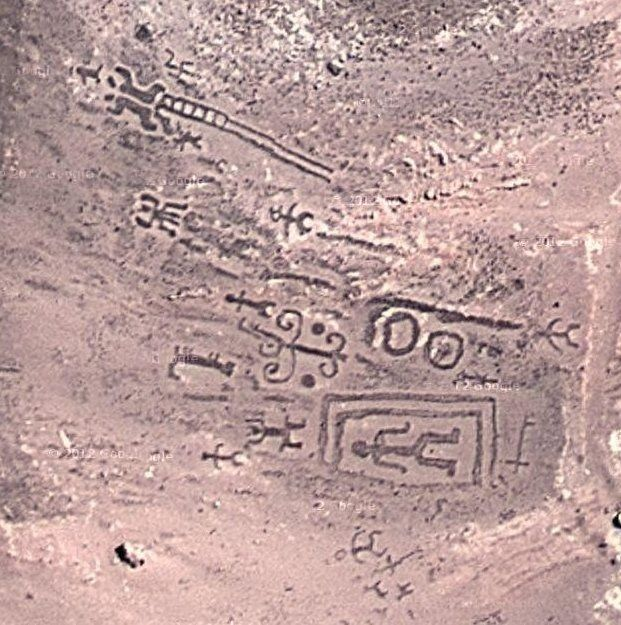 Geoglyphs of Chiza | Weird Google Earth