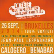 Escapages: Fête de la Fédération Wallonie-Bruxelles