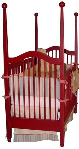 Red Crib #red, #design, #pinsland, https://apps.facebook.com/yangutu