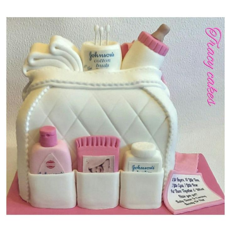 Baby changing Bag No:3 - Cake by Tracycakescreations