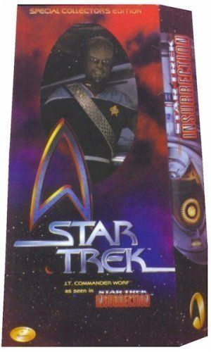 12 Special Movie Collectors Edition Star Trek Lt. Commander Worf As Seen in Star Trek: Insurrection  @ niftywarehouse.com