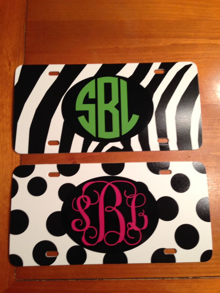 things to monogram with vinyl