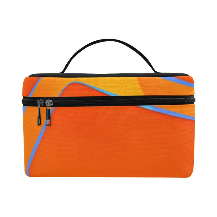 Nothing Rhymes With Orange Insulated Lunch Bag/Large (Model 1658)
