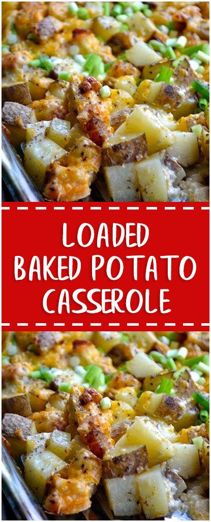 loaded baked potato casserole whole30 foodlover homecooking cooking cookingtips