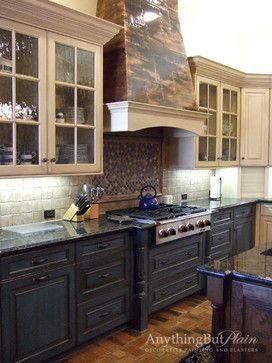 Pinterest the world s catalog of ideas for Two tone kitchen ideas