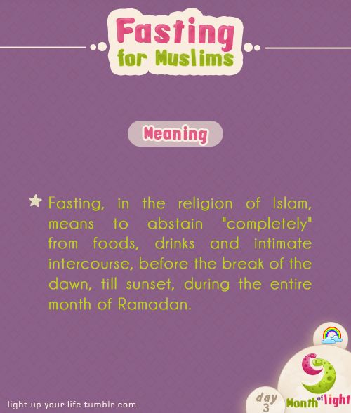 Month Of Light Fasting for Muslims episode (1)