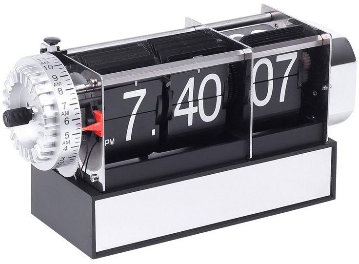 venkon horloge palettes classique avec chute des palettes et fonction r veil horloge. Black Bedroom Furniture Sets. Home Design Ideas