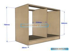 Hola amigos de Brico-diy.net el día de hoy compartimos el plano de una cómoda fabricado con tableros de mdf ,de 18 mm de espesor .La cóm...