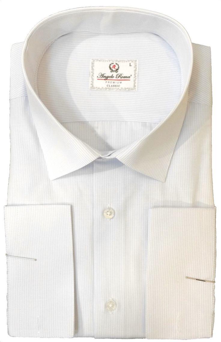 Светлая рубашка в полоску по супер выгодной цене 3900 руб руб, с бесплатной доставкой по Москве и России без предоплаты. В наличие размеры L, 3XL, 2XL, XL, M, приезжайте к нам в магазин!