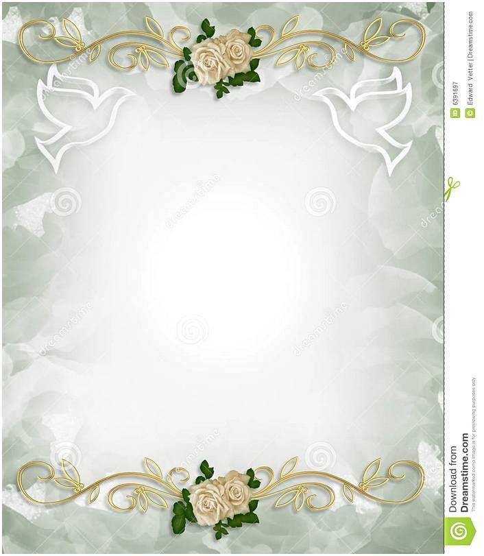 Free Wedding Invitation Templates Romantis Bingkai