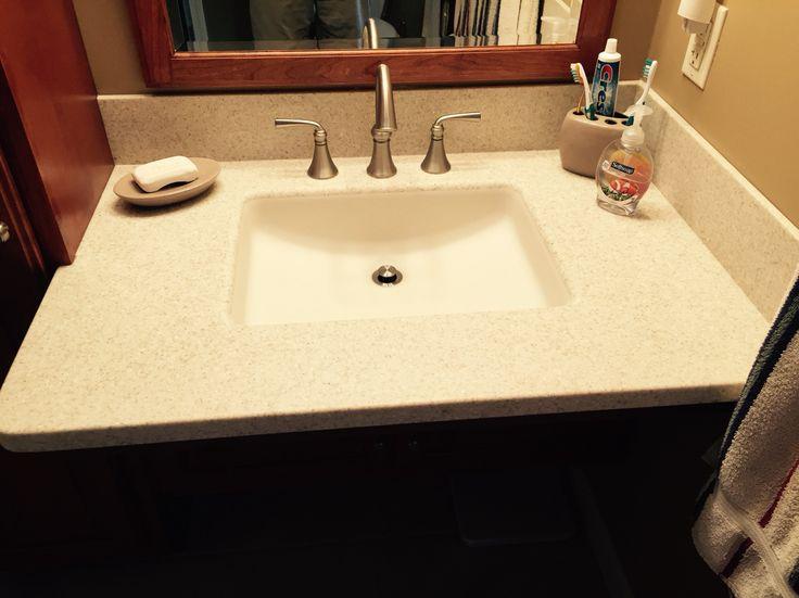 Corian Vanity Top On Universal Access Vanity By Ragonese Kitchen U0026 Bath.