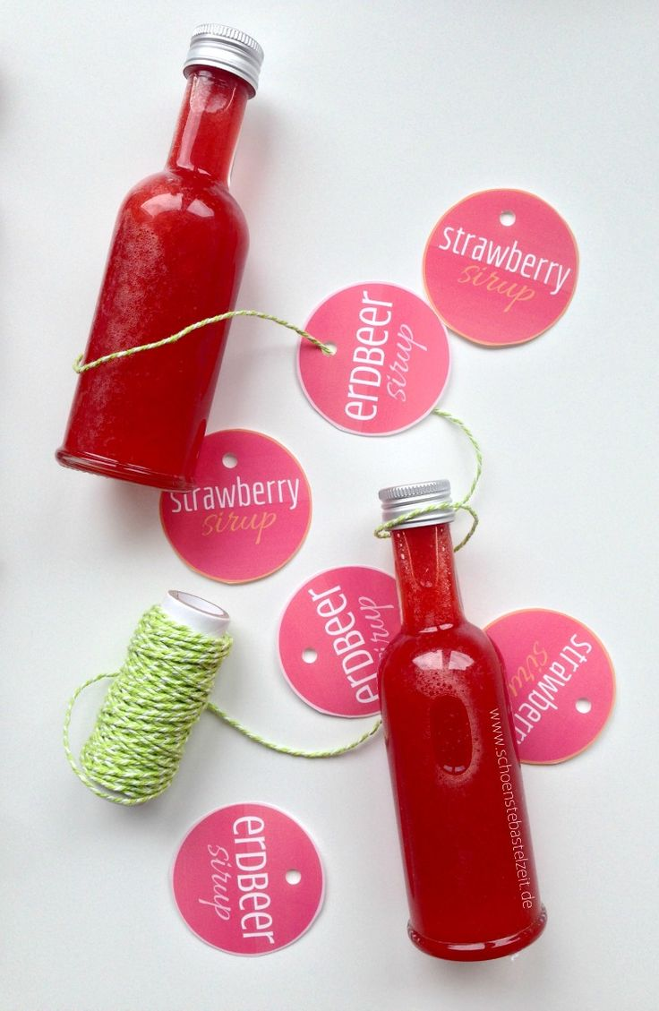 Pack den Sommer in die Flasche - mit diesem leckeren Sommersirup!